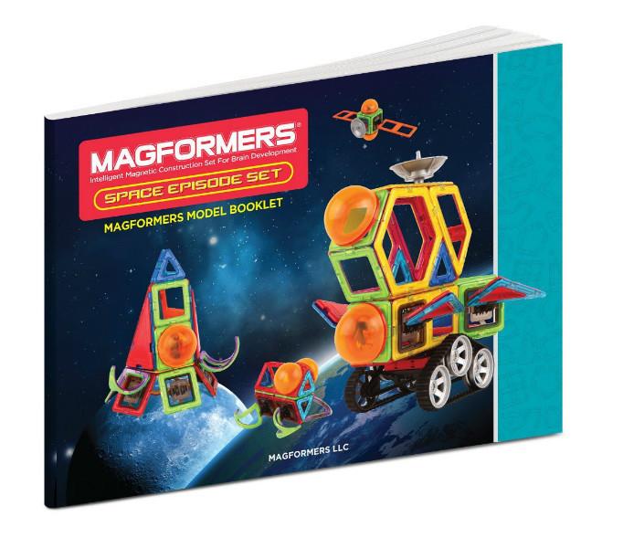 Magformers Магнитный конструктор Магический космос 55 дет. Space Episode Set 55 Piece
