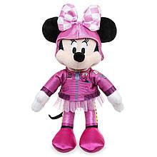 Disney плюшевая Минни Маус гонщица 24 см в розовом Minnie Mouse Plush Mickey and the Roadster Racers Small 10´