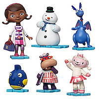 Disney Набор фигурок Доктор Плюшева Doc McStuffins 6 Piece Figurine Playset