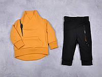 """Любимый спортивный костюм для вашего ребенка """"bike"""" (жёлтый) 80 MagBaby"""