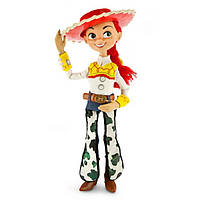 Disney Говорящая Джесси из мультфильма История игрушек Toy Story 36cm Talking Jessie Figure
