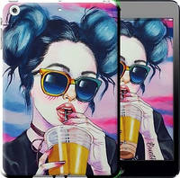 Чехол EndorPhone на iPad mini 3 Арт-девушка в очках 3994m-54, КОД: 930089
