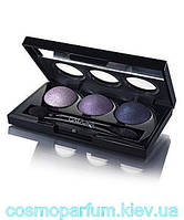 Запеченные тени для век тройные IsaDora Eye Shadow Trio - Тон 85 (Пурпур)