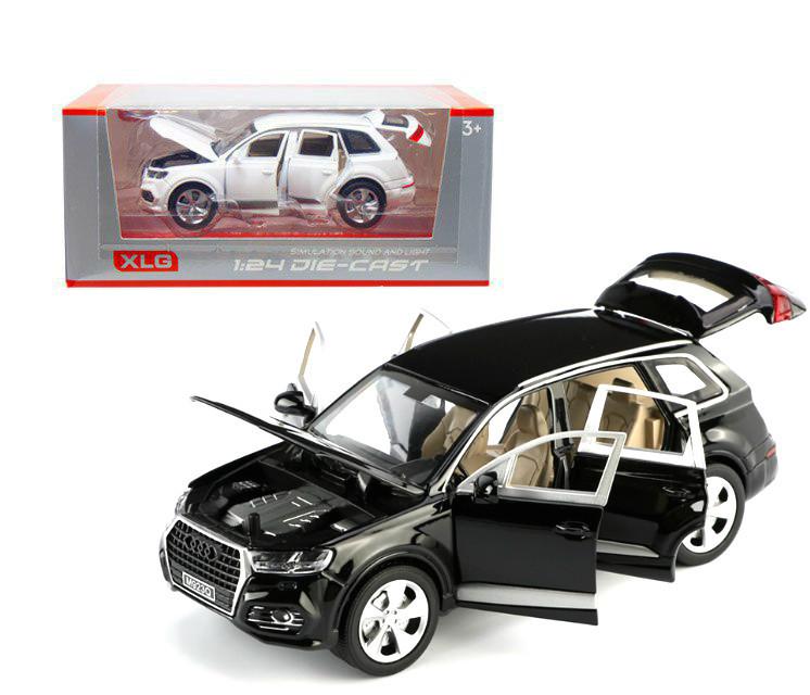 """Машинка металлическая """"Audi Q7"""" (черная) М923Q-1"""