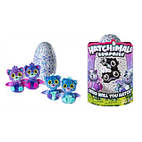 Spin Master Интерактивная игрушка Двойной сюрприз в яйце близнецы котята Hatchimals 6037096 Surprise Playset, фото 6