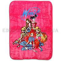 Детский плед Elway 110х140 Winx, Розовый, 110х140
