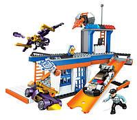 Mega Bloks Конструктор Полицейская станция CNF45 Hot Wheels Break-Out Station Building Set