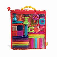 Battat Конструктор бристл 68 деталей в сумочке Строим город B. Bristle Block Stackadoos Building Toy Blocks for Toddlers