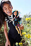 Monster High Клео Де Нил серия Садовые Монстры Garden Ghouls Wings Cleo De Nile Doll FCV54, фото 6