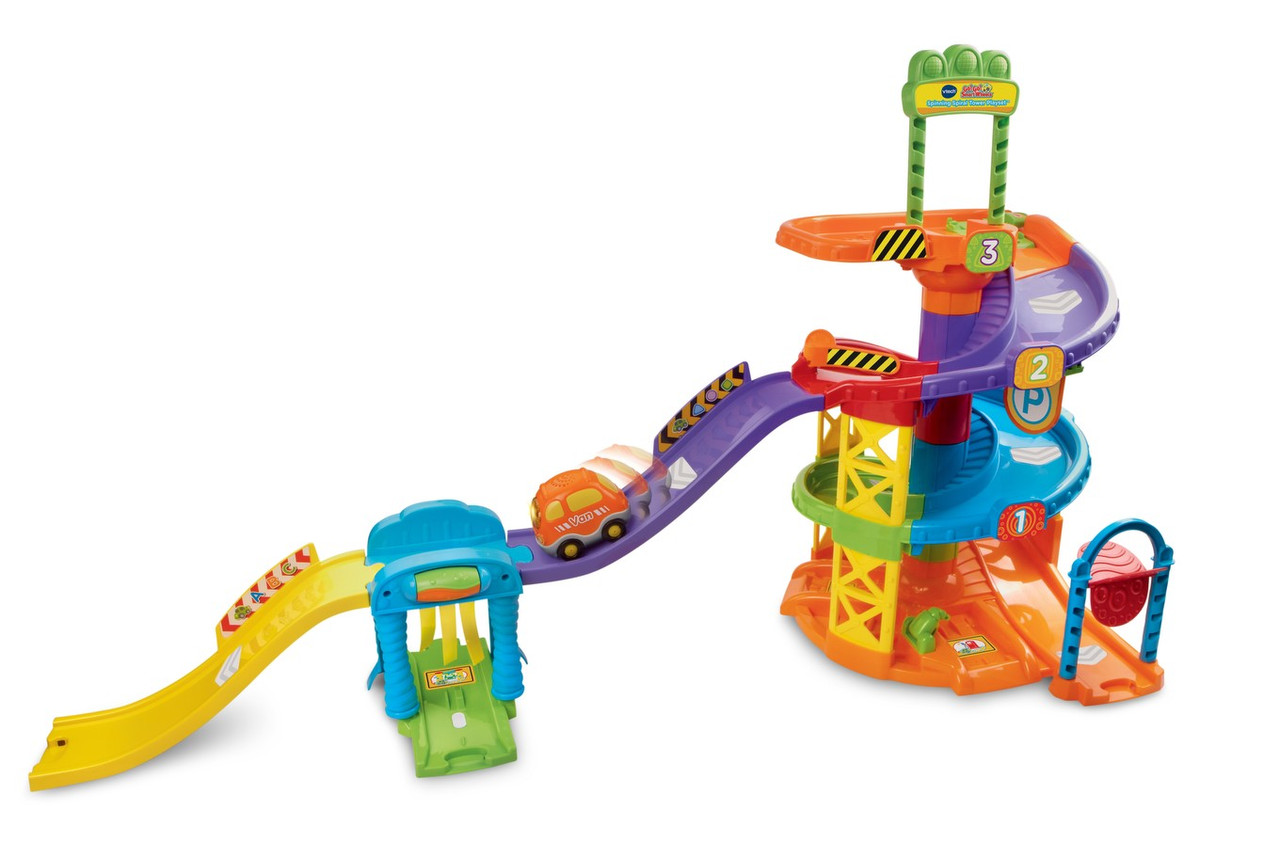 VTech Go Go Трек спинная башня с машинкой Smart Wheels Spinning Spiral Tower Playset