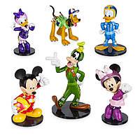 Disney Store Набор фигурок Mickey Микки Маус и друзья the Roadster Racers Figurine Playset