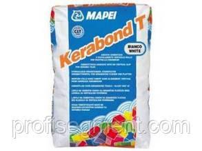 Белый клей для плитки Kerabond bianko (white) 25 кг