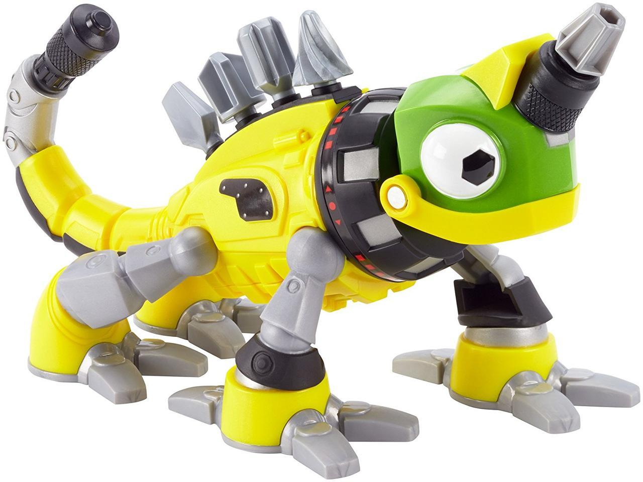 Mattel Динозавр хамелион Динотракс Реввит со звуковыми эффектами Dinotrux Friend Revvit Vehicle