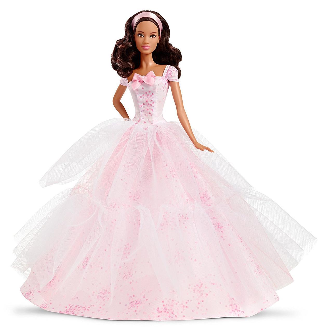 Barbie Барби Пожелания ко дню рождения Birthday Wishes 2016 Barbie Doll Dark Brunette