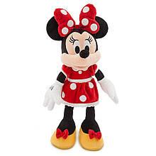 Disney плюшевая Минни Маус 48 см в красном Minnie Mouse Plush Red Medium 18'