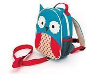 Skip Hop Рюкзак с поводком Совенок Zoo Let owl, фото 1