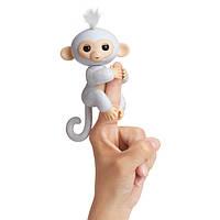 WowWee Fingerlings Блестящая интерактивная ручная обезьянка Glitter Sugar Baby Monkey Interactive