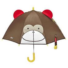 Skip Hop Детский зонт обезьянка Zoobrella Little Kid Umbrella Monkey
