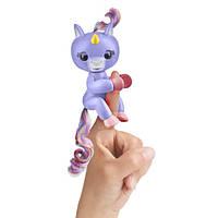 WowWee Fingerlings Интерактивный ручной единорог Алика Baby Unicorn Purple Alika