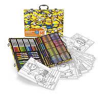 Crayola Набор для творчества в чемодане 120 предметов Миньйоны Minions Art Case Despicable Me Inspiration