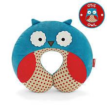 Skip Hop Дорожня подушка-підголівник сова совушка Zoo Owl Neckrest Travel