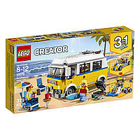 LEGO Creator Конструктор Солнечный фургон серфингиста Sunshine Surfer Van 31079 Building Kit
