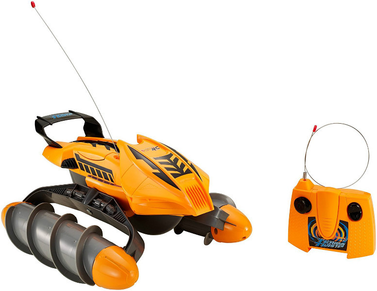 Hot Wheels Вездеход на р/у оранжевый RC Terrain Twister Orange