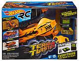 Hot Wheels Вездеход на р/у оранжевый RC Terrain Twister Orange, фото 5