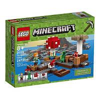 LEGO Minecraft Конструктор Грибной остров The Mushroom Island 21129