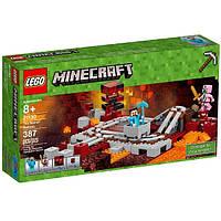 LEGO Minecraft Конструктор Подземная железная дорога The Nether Railway 21130
