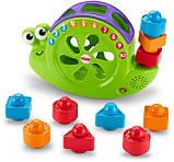 Fisher-Price Музыкальная улитка-сортер Rock 'n Sort Snail Pail Toy Playset, фото 3