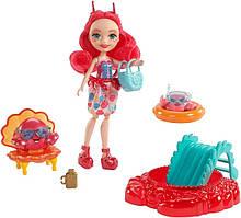 """Enchantimals игровой набор """"Морские подруги"""" Cameo Crab s Fashion Dolls FKV58"""