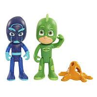 Just Play PJ Masks Герои в масках Фигурки Гекко и Ниндзялино Figure Pack Set Gekko Night Ninja Toy