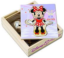 Melissa Doug Деревяные пазлы Минни Маус Disney Minnie Mouse Mix and Match