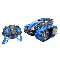 Nikko Машина-вездеход на радиоуправление, синяя 90207 Nanotrax RC Car, Blue