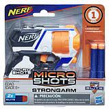Nerf Бластер микрошот н-страйк элит Стронгарм MicroShots N-Strike Elite Strongarm, фото 2