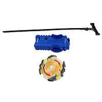 Beyblade Бейблейд c пусковым устройством и подсветкой Роктавор р2 Roktavor R2 Rip Fire Burst Battling Top Toy