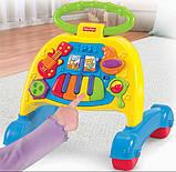 Fisher-Price Ходунки толкатели Блестящие основы V3254 Brilliant Basics Musical Activity Walker, фото 3