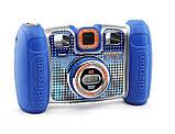 VTech Детская цифровая камера с видео записью синий Kidizoom 80-140820 Twist Connect Camera Blue, фото 2