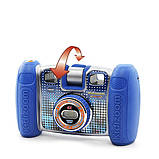 VTech Детская цифровая камера с видео записью синий Kidizoom 80-140820 Twist Connect Camera Blue, фото 4