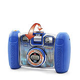VTech Детская цифровая камера с видео записью синий Kidizoom 80-140820 Twist Connect Camera Blue, фото 5