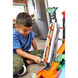Hot Wheels Трек измени цвет водонапорная башня взрыв цветов Ultimate Gator Car Wash Play Set with Color, фото 7