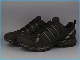 Мужские кроссовки Adidas AX 1 LEA (черные), фото 2