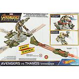 Hot Wheels Трек Танос-разрушитель FLM81 Marvel Avengers vs Thanos Showdown Play Set, фото 3