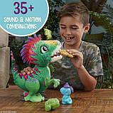 FurReal Friends Интерактивный динозавр Малыш Дино E0387 Munchin' Rex, фото 8