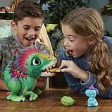 FurReal Friends Интерактивный динозавр Малыш Дино E0387 Munchin' Rex, фото 4