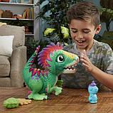 FurReal Friends Интерактивный динозавр Малыш Дино E0387 Munchin' Rex, фото 3