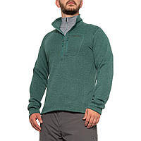 Флисовая куртка Marmot Drop Line Fleece - Zip Neck Mallard Green  - Оригинал