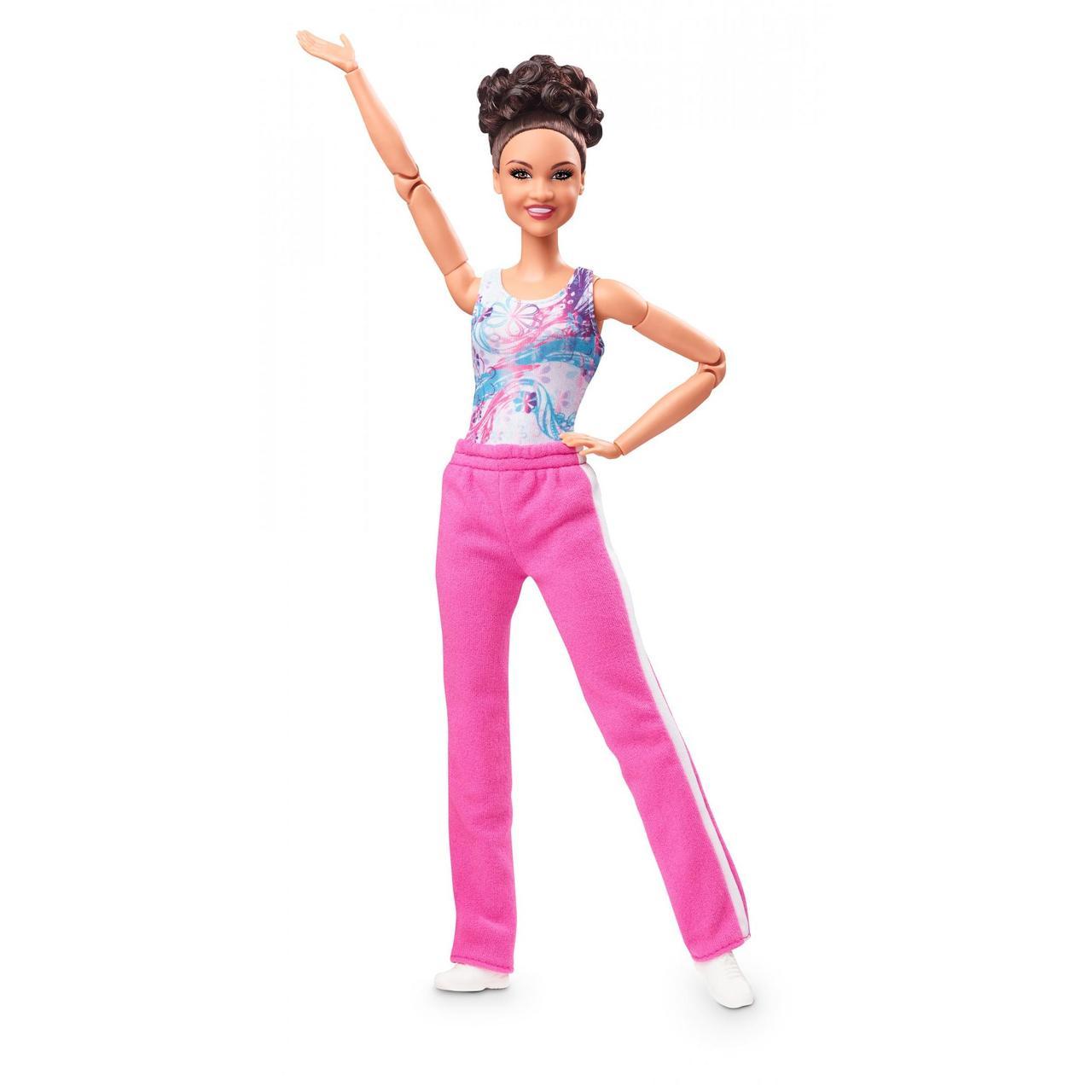 Barbie Барби гимнастка Лаура Фернандез Laurie Hernandez Gymnast Doll