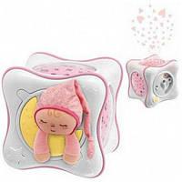 Chicco Ночник проектор детский радуга розовый 24301 Cube